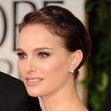 Natalie Portman con un recogido con trenza ladeada