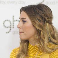 Blanca Suárez con trenza ladeada y cabello suelto