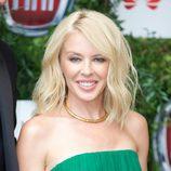 Kylie Minogue con un make up muy natural en una gala solidaria en Londres