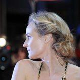 Diane Kruger con un recogido messy