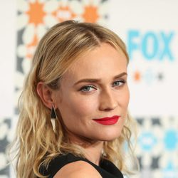 Diane Kruger con beachy waves