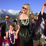 Courtney Love en la premiere de 'Pearl Harbor'