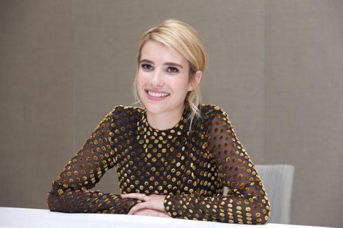 Emma Roberts en el Hotel Conrad de Nueva York