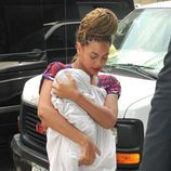 Beyoncé con trenzas y Blue Ivy Carter
