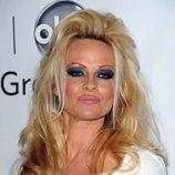 Pamela Anderson en la rueda de prensa de verano de Disney ABC
