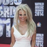 Pamela Anderson en los 'World Music Awards' en Monte Carlo