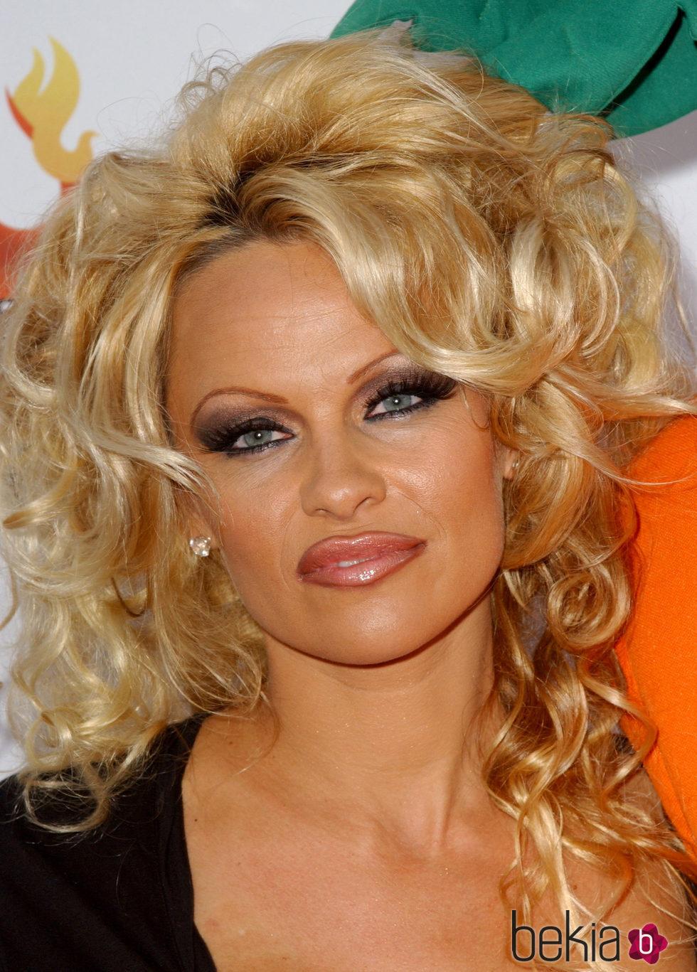 Pamela Anderson en la fiesta de Comedy Central del 2005