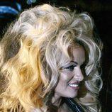 Pamela Anderson con un cardado en 17 edición del 'Life Ball'