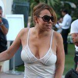 Mariah Carey de vacaciones en Saint Tropez