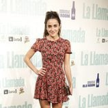 Macarena García en la presentación de la obra de teatro 'La Llamada'