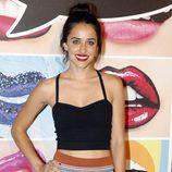 Macarena García en un acto de la firma Mac Cosmetics