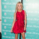 Nicola Hughes en la presentación de 'Breakfast at Tiffany's'