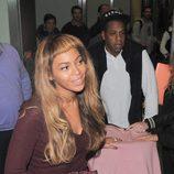 Beyoncé y su familia en Londres