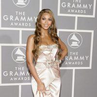 Beyoncé en la 49 edición de los Grammy