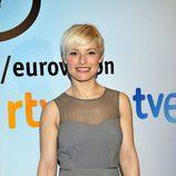 Soraya Arnelas en la presentación de la candidatura a Eurovisión