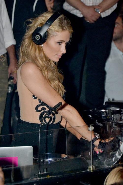 Paris Hilton pinchando en Marbella