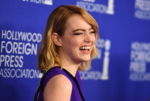 Emma Stone en 'Hollywood Foreign Press Association'