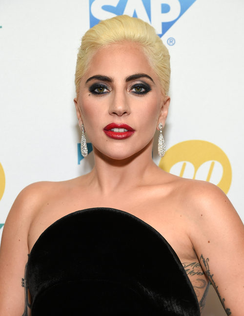 Lady Gaga en un evento de Tony Bennett
