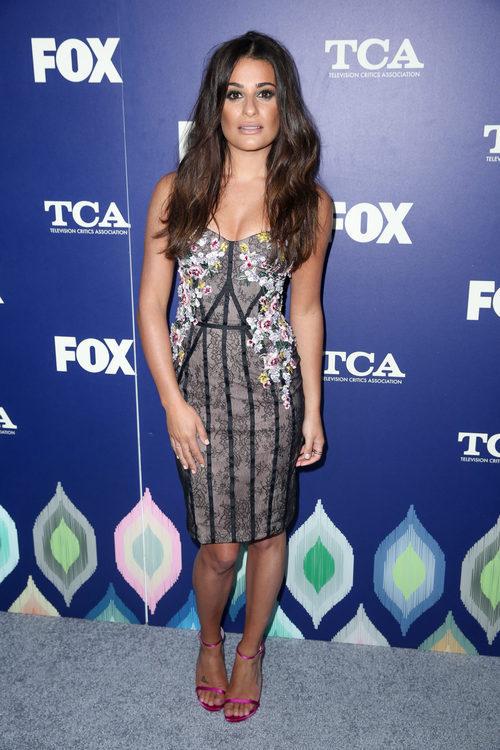 Lea Michele en la 'Fox Television Critics Association'