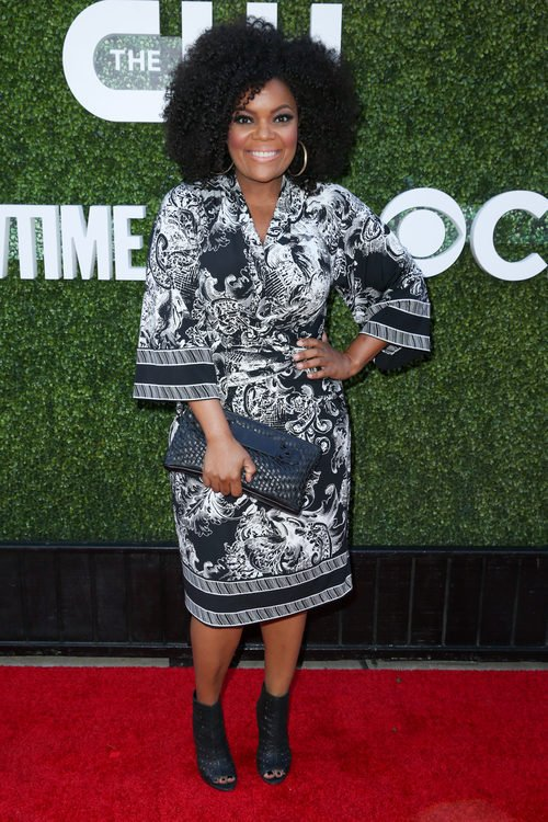 Yvette Nicole Brown en la 'Showtime Party'