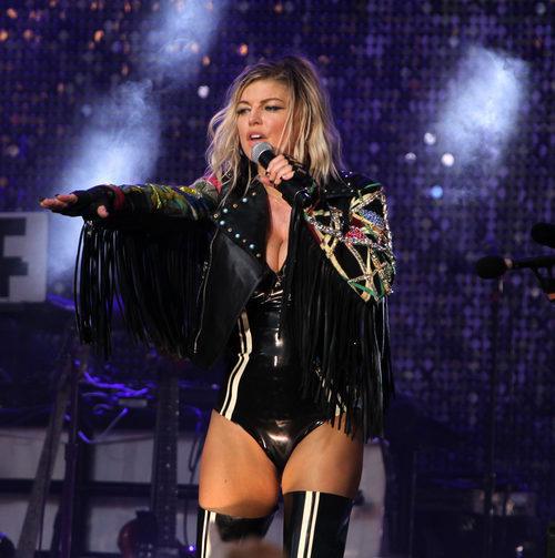 Fergie en 'Pandora Summer Crush'