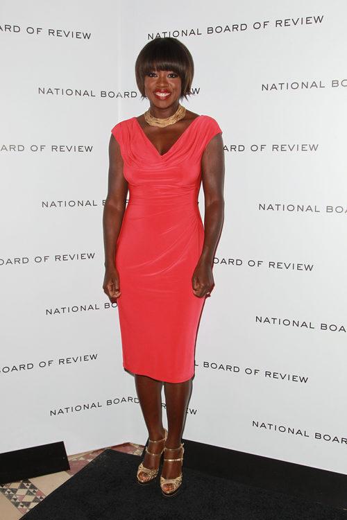 Viola Davis en la gala  de 'National Board of Review Awards'