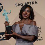 Viola Davis en la 22 edición de 'Screen Actors Guild Awards'