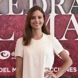 Michelle Jenner sonriente en la presentación del rodaje de 'La Catedral del Mar'