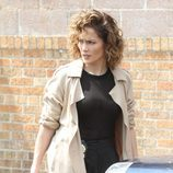Jennifer Lopez en el set de 'Shades of Blue'