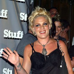 Pink en la fiesta 'Stuff Magazine'