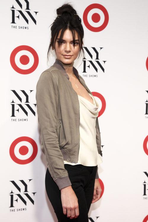 Kendall Jenner con el flequillo partido