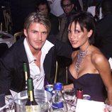 Victoria Beckham y David Beckham en los MOBO Awards