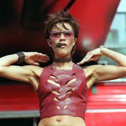 Victoria Beckham actuando en Scarborough