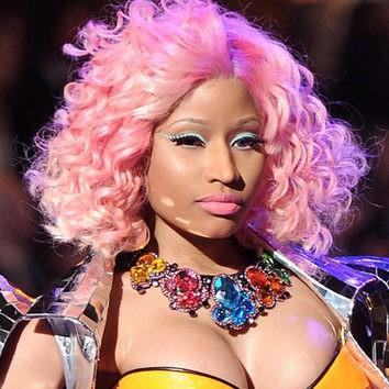 La cara de Nicki Minaj es un lienzo