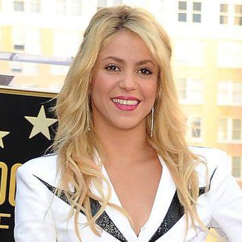 Shakira apuesta por el fucsia para sus labios