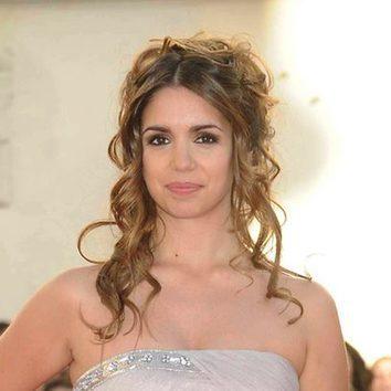Elena Furiase y su peinado de boda