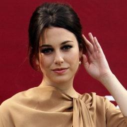 Blannca Suárez con un elegante recogido