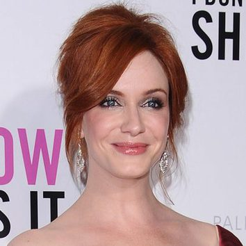 Christina Hendricks, palidez luminosa