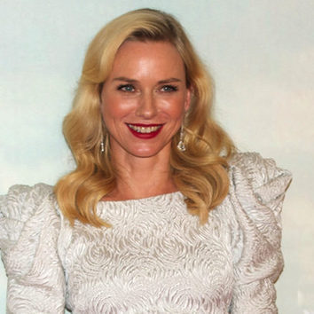Naomi Watts radiante en Madrid