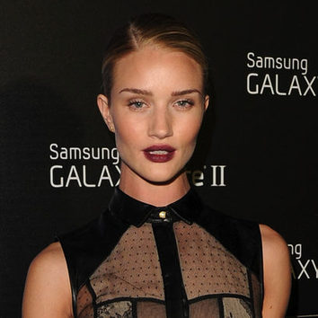 Los labios de Rosie Huntington-Whiteley