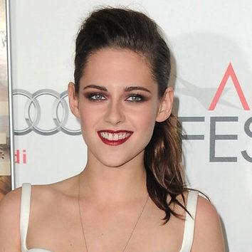 El look vampírico de Kristen Stewart
