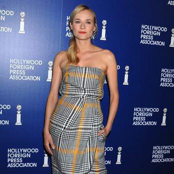 Diane Kruger apuesta por la coleta lateral