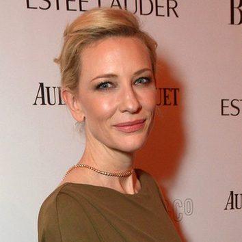 Cate Blanchett, experta en maquillaje