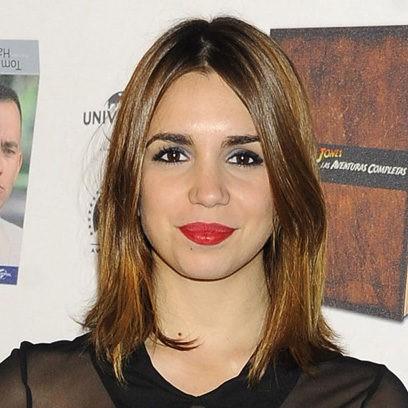 Elena Furiase apuesta por el 'rouge'