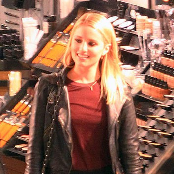 Dianna Agron: no sin maquillaje