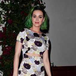 Katy Perry se pasa al verde