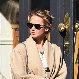 Jennifer Lawrence, bob pasado por agua