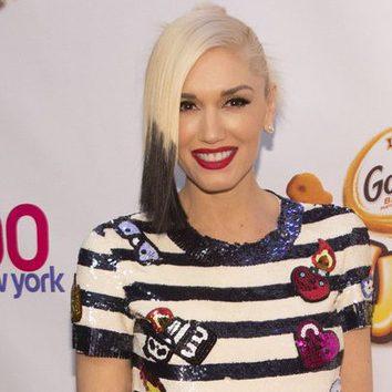 El pelo bicolor de Gwen Stefani