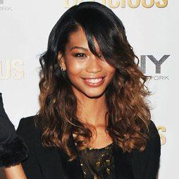 Chanel Iman y su color 'ombré hair'