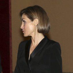 La Reina Letizia repite su falso bob